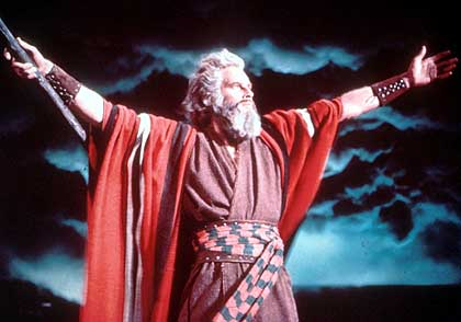 Charlton Heston IS Moses!