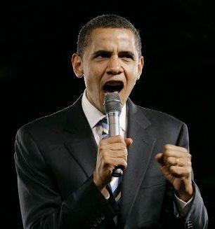 Barack Obama Gets Loud